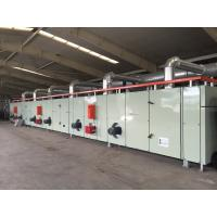Gas Heating Digital Printing Equipment , Drying And Coiling Printed Carpet Manufactures