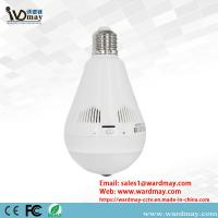 Quality Wdm 360 Degree Panoramic WiFi Smart Home Wireless Security Bulb IP CCTV Camera for sale