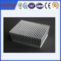 Mill finish led aluminum extrusion heat sink,heat sink aluminum extrusion Manufactures