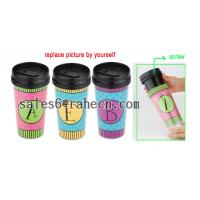 DIY double wall plastic mug Manufactures
