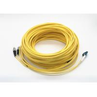 China 25 meters long Single Mode Duplex Ruggedized LC to FC fiber optic patch cord on sale
