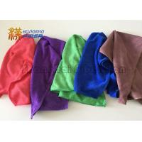 350gsm Durable Microfiber Cleaning Cloth , Microfiber Towels For Cars 100% Polyester