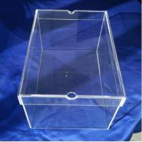 32x22x17cm Lid Acrylic Display Products Shoe Sneaker Box  Without Logo Manufactures