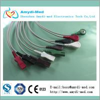 Quality Spacelabs ECG leadwires,5 lead,AHA cable, snap/button type for sale