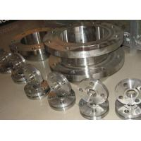 China ASTM A / SA182  WN / SW  Flanged Steel Pipe Fittings , Custom Stainless Steel Blind Flange on sale