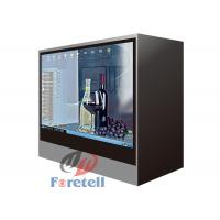 Jewelry Exhibition Lcd Transparent Screen Transparent Video Showcase 100 ~ 240V Power Supply Manufactures