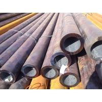 Q345 , J55 Bitumen Coating Stainless Steel Welded Pipes / Tubes Din Screw Threaded Manufactures