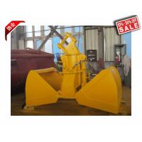 Construction Equipments Excavator Clamshell Hydraulic Grab Bucket Customized Color Manufactures
