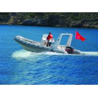 China Chemical Resistance Inflatable Rigid Hull Boats Dimensional Stability 22 Ft wholesale