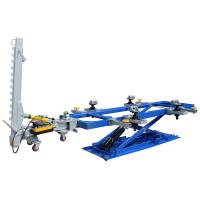 Auto Body Frame Machine with two pulling towers, deluxe tool cart and 15kinds of clamps, 10mm thickness manganese steel H-807 Manufactures