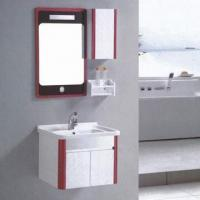 Solid Wood Bathroom Vanity with Cabinet, Various Colors are Available Manufactures