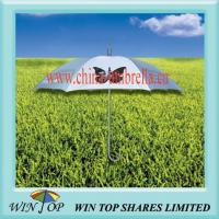Manual Stick Aluminum Butterfly Promotion Umbrella(WT5021) Manufactures