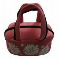 Neoprene Picnic Bag with Zip Closure, Vivid Color, Ideal for Beach and Camping Manufactures
