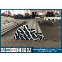 Sheet Metal Fabrication Electrical Transmission Poles Easy Installation Manufactures