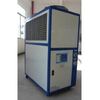 8KW Cooling Capacity Stainless Steel Heat Exchanger Evaporator Industrial Air Cooled Water Chillers For Rubber Machinery Manufactures