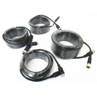 4 Pin Vehicle Monitor Aviation Cable , Video / Audio Cctv Camera Cable Manufactures