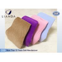 China Comfort Velvet Fabric Driving Back Support Cushions For Car Seat , CE SGS Approval on sale