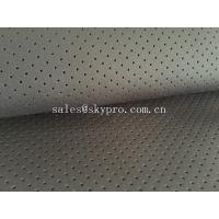 Perforated neoprene / airprene fabric roll OF SBR SCR CR Material for sale