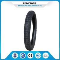 Low Loise Tricycle Rubber Tires 2.75-14 TT 35%-55% Rubber Content SGS Certificate Manufactures