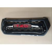 Buy cheap Car Chrome Front Grille With TRD Logo For Toyota Hilux Revo Rocco 2018 Black Grill from wholesalers