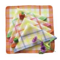 China Absorbent non-terry kitchen cleaning tea towel sets on sale