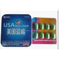 China USA Blue Shark Sex Pill, Herbal Sex Pill, Sex Product, Sex Capsule, Sex Enhancer Quickly Enhance Men's Sexual Capability on sale