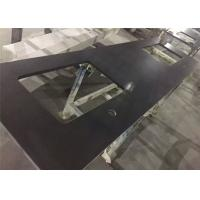 Countertop Materials For Sale : Quality Customized Pure Black Kitchen Countertop Material Artificial ...
