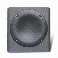 10-inch Active Subwoofer with 100W Power Amplifier and Steel Grille Design Manufactures