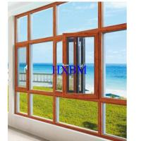 European Standard Wood Aluminium Windows 70mm Frame 15mm Thick Nature Wood Manufactures