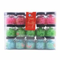 China Colorful & Healthy Sweets / 7g Lucky candy packed in small jar yummy Low sugar Hard candy on sale