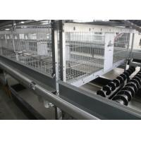 Poultry Farm A Frame Layer Cages 1200×625×480 Mm Q235 Standard Steel Material for sale