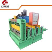 PPGI Curving Roofing Sheet Crimping Machine , Hydraulic Sheet Bending Machine Manufactures