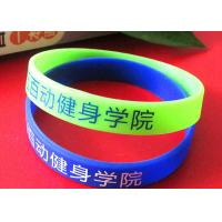 FIFA Rubber Bracelets With Sayings , Colored Rubber Bracelets AZO Free Manufactures