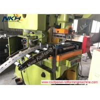 China Unistrut Channel Roll Forming Machine , U Shape Shelf Panel Roll Forming Machine on sale