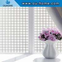 China BT818 Square design office frosted glass window film for sale