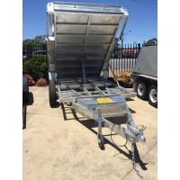 5 Stage Ram 5 Ton 10x5 Galvanised Tandem Tipper Trailers 3200KG Manufactures