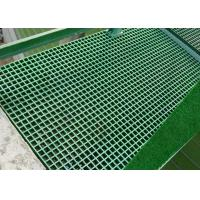 Corrosion Resistance Platic Floor Grating High Strength Customized Manufactures