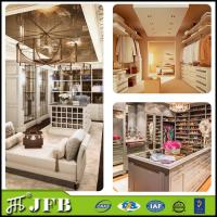 China Fittings walk in wardrobes closets cloakroom modular italy design clothes shop aluminum walk in wardrobe on sale
