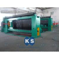 Auto High Speed Stone Gabion Mesh Machine With Wire Tension Device Manufactures