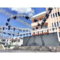 Aluminum Stage Circular Lighting Truss For Parties , Long Work Life Times Manufactures