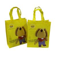 Non Woven Fabric Carrier Bags Waterproof With Cartoon Printing For Shopping Manufactures