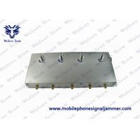 5-Band Portable 3G Cell Phone Signal Jammer Black Manufactures