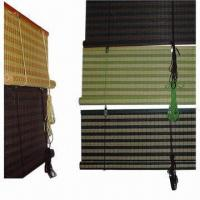 Bamboo Blinds/Curtains/Shades, Customized Colors and Sizes are Accepted Manufactures