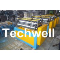 11KW Motor Power / PLC Control Three Roller Bending Machine To Curve Corrugated Sheets Manufactures