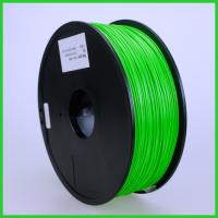 Green 3D Printer Filament ABS, Dia 1.75mm 1kg ABS FDM 3d printer consumable material Manufactures