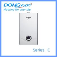 Buy cheap European technology gas hot water boiler for 24 kilowatt from Dongyuan gas appliances company from wholesalers