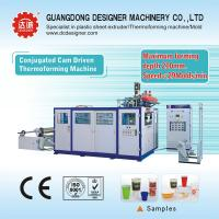 Plastic thermoforming machine for cups or containers with max forming depth 170mm S7125D for sale