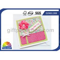 Professional Mothers' Day Greeting Cards Printing Service / Festival Greeting Cards Printing Manufactures