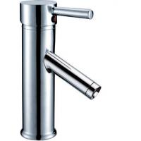 Polished Hot And Cold Water Faucet Basin Tap Faucets , Copper Brushed Nickel Basin Faucet Manufactures