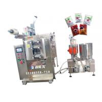 Multiple Materials Sauce Filling Equipment With PLC Controller , Bright Color